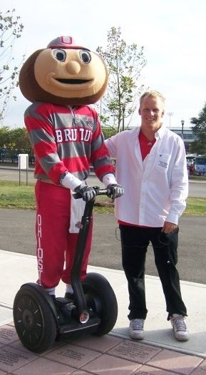 Brutus on My Segway