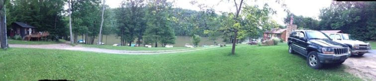 A View of the Clarion River